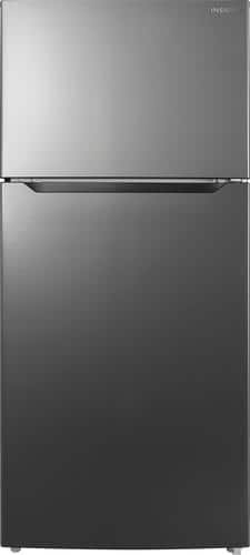 Best Buy Weekly Ad: Insignia - 18 cu. ft. Black Stainless Steel Top-Freezer Refrigerator for $679.99
