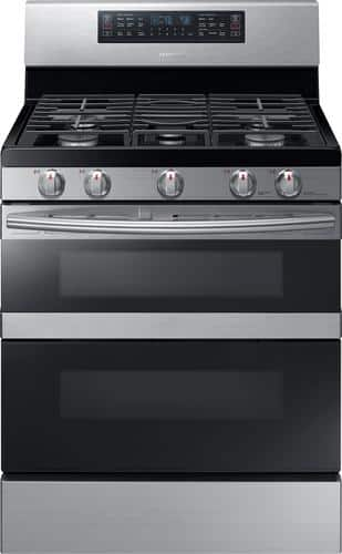 Best Buy Weekly Ad: Samsung - 5.8 cu. ft. Gas Convection Range for $1,199.99