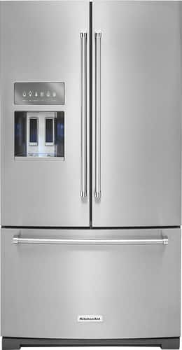 Best Buy Weekly Ad: KitchenAid - 26.8 cu. ft. Stainless Steel French Door Refrigerator for $2,799.99