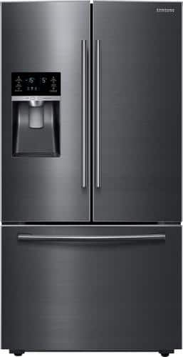 Best Buy Weekly Ad: Samsung - 28 cu. ft. Black Stainless Steel French Door Refrigerator for $1,899.99