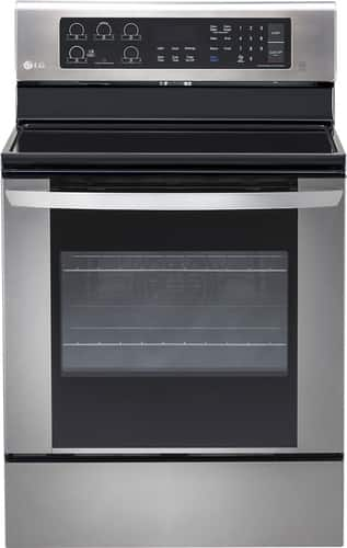 Best Buy Weekly Ad: LG - 6.3 cu. ft. Electric Convection Range for $599.99