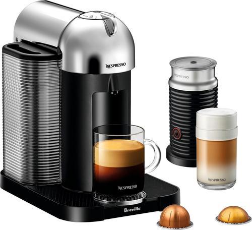 Best Buy Weekly Ad: Nespresso - Vertuo Espresso Maker/Coffeemaker - Chrome for $199.99