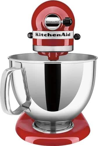 Best Buy Weekly Ad: KitchenAid KSM150PSER Artisan Series Tilt-Head Stand Mixer - Empire Red for $299.99