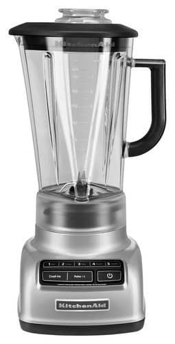 Best Buy Weekly Ad: KitchenAid KSB1575MC Diamond 5-Speed Blender - Metallic Chrome for $99.99