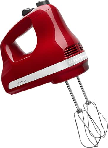 Best Buy Weekly Ad: KitchenAid KHM512ER 5-Speed Hand Mixer - Empire Red for $29.99
