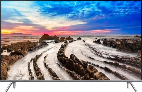 """Best Buy Weekly Ad: Samsung 82"""" Class LED 4K Ultra HD Smart TV with High Dynamic Range for $3,299.99"""