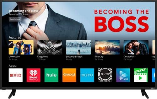 """Best Buy Weekly Ad: Vizio 50"""" Class LED 4K Ultra HD Smart Home Theater Display for $399.99"""