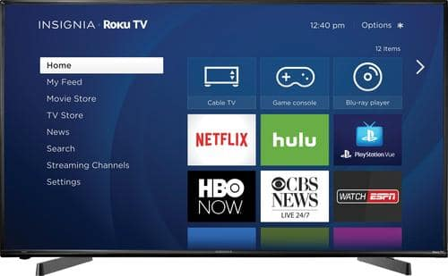 """Best Buy Weekly Ad: Insignia 49"""" Class LED 1080p Smart HDTV (Roku TV) for $269.99"""