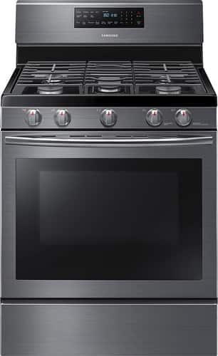 Best Buy Weekly Ad: Samsung - 5.8 cu. ft. Gas Convection Range for $749.99