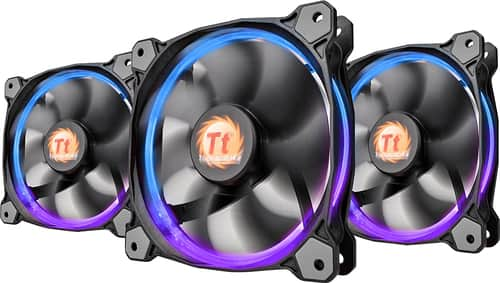 Best Buy Weekly Ad: Thermaltake - RGB LED Ring Case/Radiator Fan - Triple for $44.99