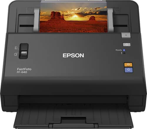 Best Buy Weekly Ad: Epson FastFoto FF-640 Scanner for $549.99