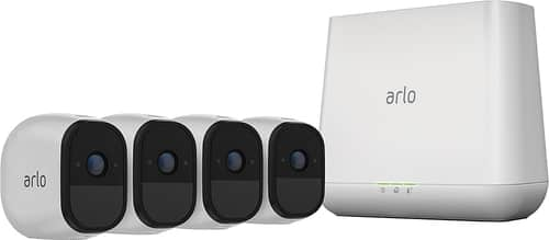 Best Buy Weekly Ad: Arlo Pro HD Wire-Free 4-Cam. Security Kit for $599.99
