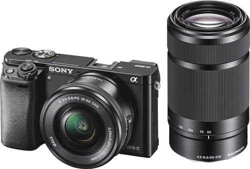 Best Buy Weekly Ad: Sony a6000 2 Lens Mirrorless Camera Kit for $749.99