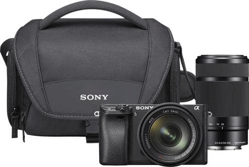 Best Buy Weekly Ad: Sony a6300 2 Lens Mirrorless Kit for $1,079.99