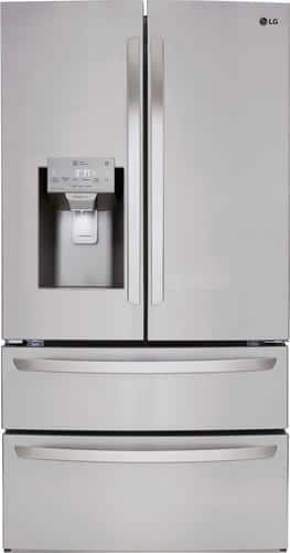 Best Buy Weekly Ad: LG - 27.8 cu. ft. Stainless Steel 4-Door French Door Refrigerator for $2,099.99