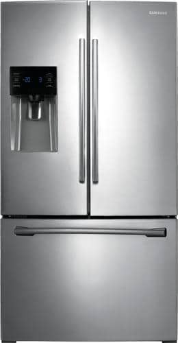 Best Buy Weekly Ad: Samsung - 24.6 cu. ft. Stainless Steel French Door Refrigerator for $1,499.99