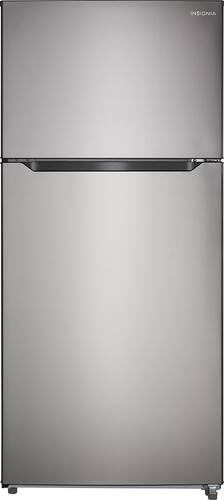 Best Buy Weekly Ad: Insignia - 18 cu. ft. Stainless Steel Top-Mount Refrigerator for $579.99