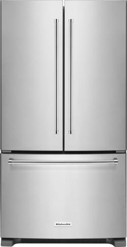 Best Buy Weekly Ad: KitchenAid - 20.0 cu. ft. Stainless Steel Counter-Depth French Door Refrigerator for $1,899.99