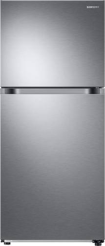 Best Buy Weekly Ad: Samsung - 17.6 cu. ft. Stainless Steel Top-Freezer Refrigerator for $699.99