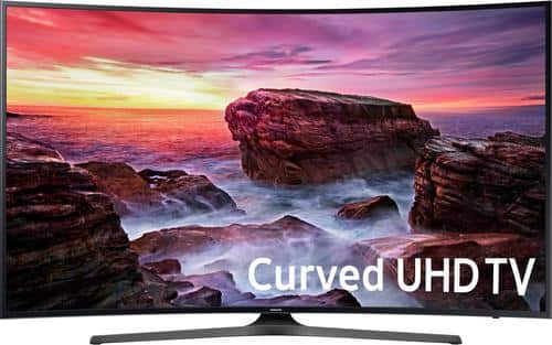"Best Buy Weekly Ad: Samsung - 55"" Class Curved LED 4K Ultra HD Smart TV for $699.99"