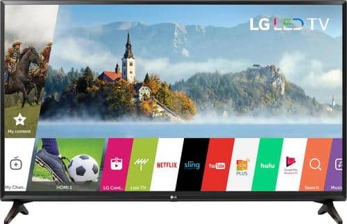 """Best Buy Weekly Ad: LG - 43"""" Class LED 1080p Smart HDTV for $279.99"""