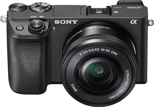 Best Buy Weekly Ad: Sony Alpha a6300 Mirrorless Camera with 16-50mm  Lens for $899.99