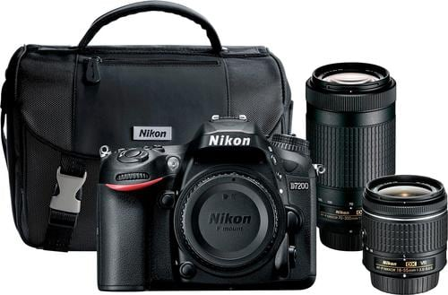 Best Buy Weekly Ad: Nikon D7200 2 Lens Kit for $1,199.99