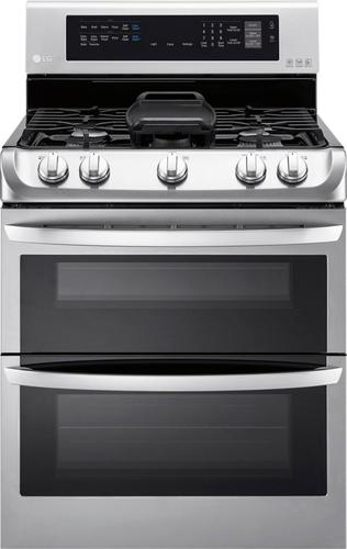 Best Buy Weekly Ad: LG - 6.9 cu. ft. Gas Double Oven Convection Range for $1,399.99