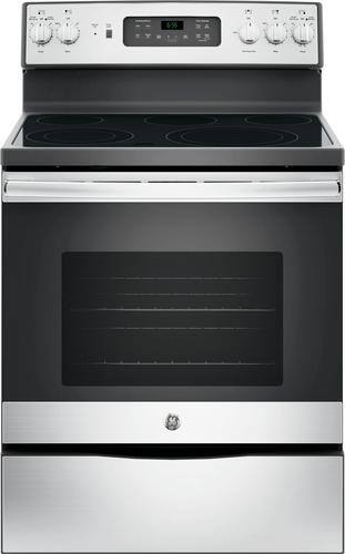 Best Buy Weekly Ad: GE - 5.3 cu. ft. Electric Convection Range for $599.99