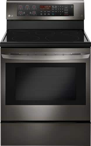 Best Buy Weekly Ad: LG - 6.3 cu. ft. Electric Convection Range for $799.99
