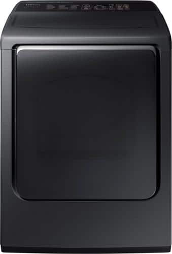 Best Buy Weekly Ad: Samsung - 7.4 cu. ft. 12-Cycle High-Efficiency Electric Dryer with Steam for $749.99