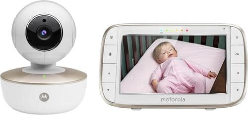 "Best Buy Weekly Ad: Motorola Video Baby Monitor with 5"" Screen for $249.99"