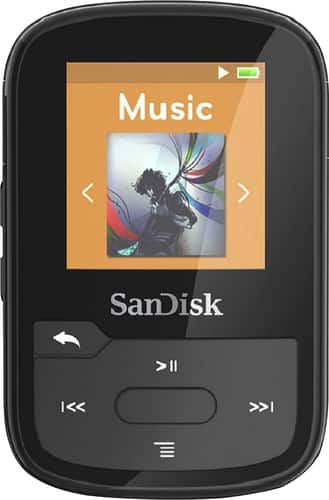Best Buy Weekly Ad: SanDisk - Clip Sport Plus 16GB MP3 Player for $49.99