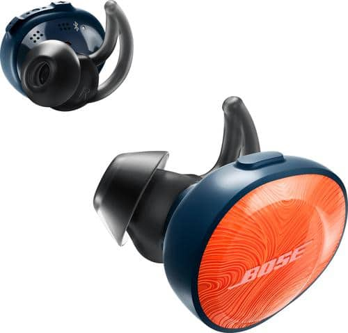 Best Buy Weekly Ad: Bose SoundSport Free Wireless Headphones - Bright Orange for $199.99