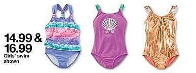 Target Weekly Ad: Girls' Mermaid Swim Skirt - Cat & Jack Mint for $14.99