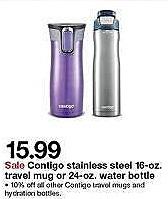Target Weekly Ad: Contigo® West Loop 16oz Stainless Steel Travel Mug for $15.99