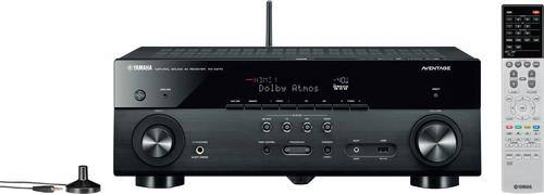 Best Buy Weekly Ad: Yamaha AVENTAGE RX-A670BL 7.2-Ch. 4K Ultra HD A/V Home Theater Receiver - Black for $399.98