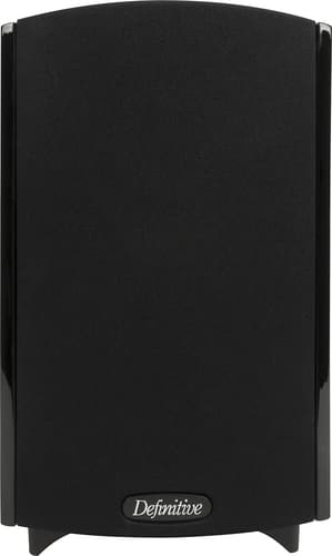 "Best Buy Weekly Ad: Definitive Technology - ProMonitor 800 4-1/2"" Bookshelf Speaker (Each) - Gloss Black for $124.98"