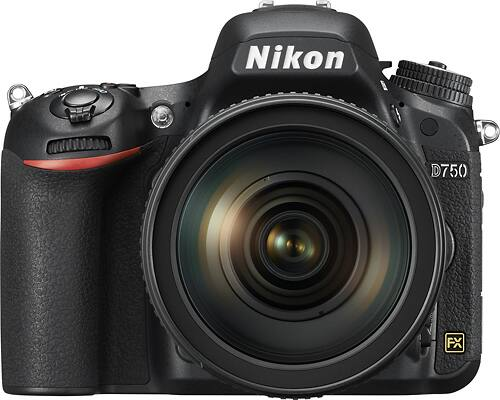 Best Buy Weekly Ad: Nikon D750 DSLR Camera with 24-120mm Lens for $2,299.99