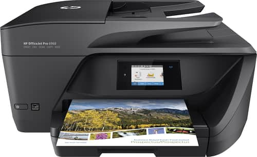 Best Buy Weekly Ad: HP OfficeJet Pro 6968 Wireless Printer for $74.99