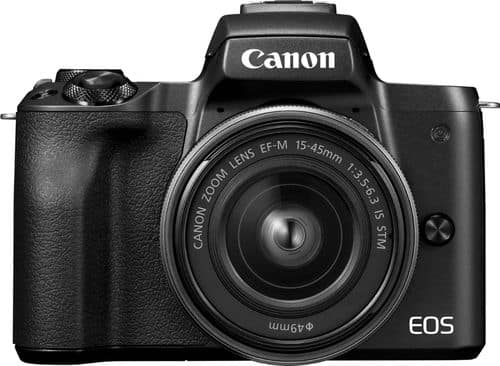 Best Buy Weekly Ad: Canon EOS M50 Mirrorless Camera with 15-45mm Lens for $899.99