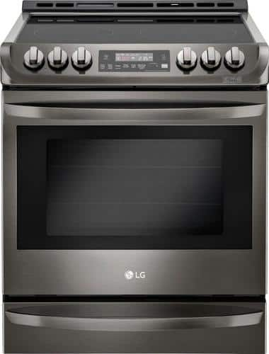 Best Buy Weekly Ad: LG 6.3 cu. ft. Slide-In Electric Convection Range for $1,499.99