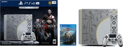 Best Buy Weekly Ad: PlayStation 4 Pro 1TB Limited Edition God of War Console Bundle for $399.99