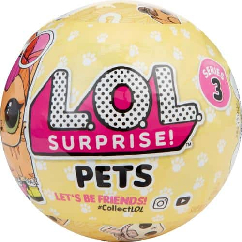 Best Buy Weekly Ad: L.O.L. SURPRISE PETS STYLES MAY VARY for $9.99