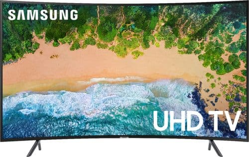 """Best Buy Weekly Ad: Samsung - 65"""" Class Curved LED NU7300 Series 4K UHD Smart TV with HDR for $1,199.99"""