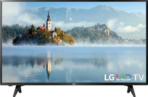 "Best Buy Weekly Ad: LG - 43"" Class LED LJ500M Series 1080p HDTV for $249.99"