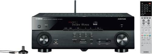 Best Buy Weekly Ad: Yamaha AVENTAGE RX-A670BL 7.2-Ch. 4K Ultra HD A/V Home Theater Receiver for $349.98