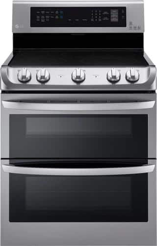 Best Buy Weekly Ad: LG - 7.3 cu. ft. Electric Double Oven Convection Range for $1,399.99
