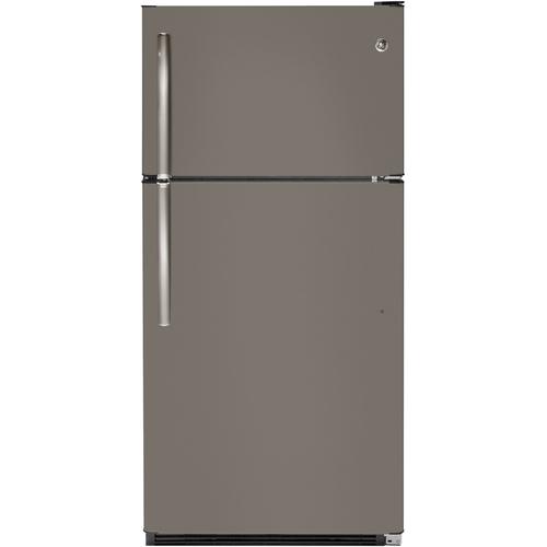 Best Buy Weekly Ad: GE -  20.8 Cu. Ft. Top-Freezer Refrigerator- Slate for $749.99