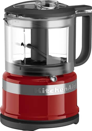 Best Buy Weekly Ad: KitchenAid 2-Speed Food Processor - Empire Red for $39.99
